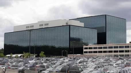 The National Security Administration campus in Fort Meade,