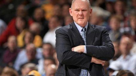 Nuggets former head coach George Karl. (Getty)