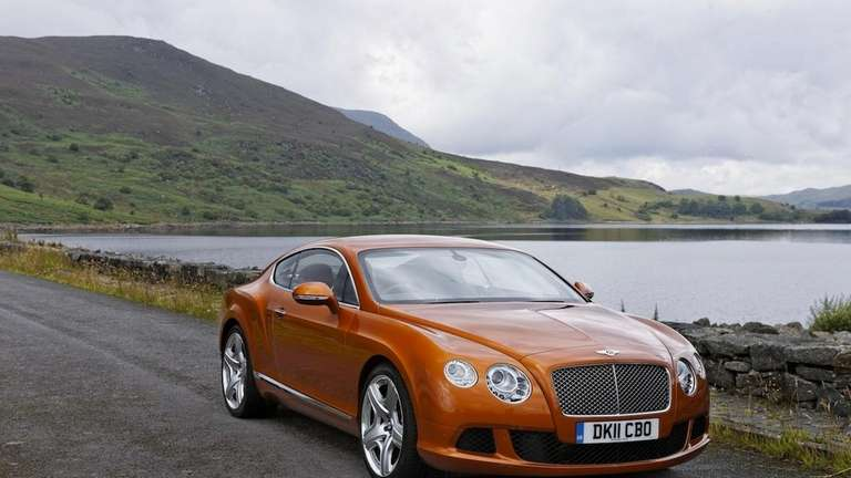 The 2013 Bentley Continental GT Speed has a