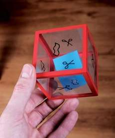 The Rock, Paper, Scissors Dice craft can be