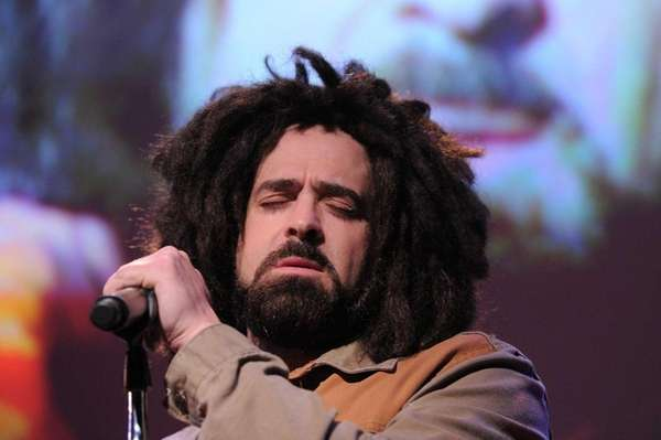 Adam Duritz of the Counting Crows performs at