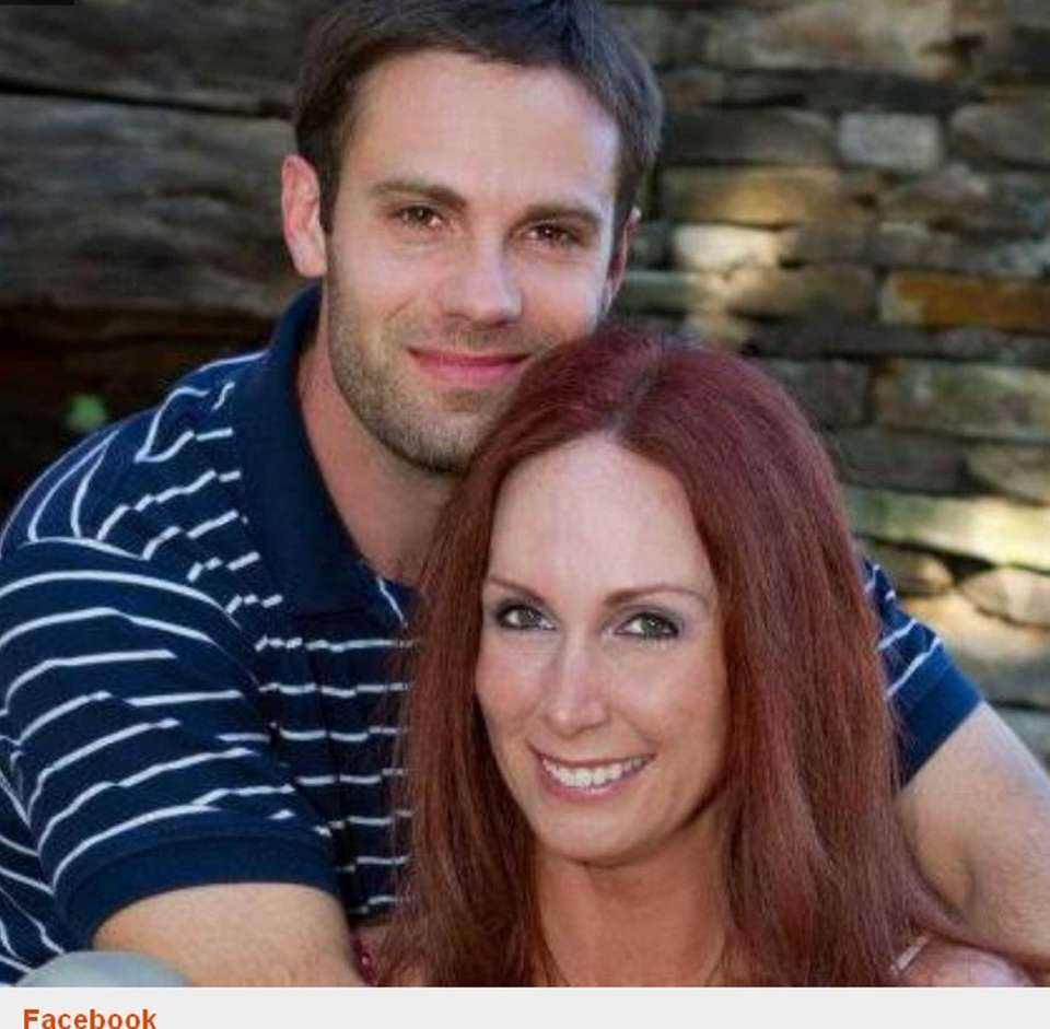 Undated Facebook photograph of husband and wife, Nathaniel