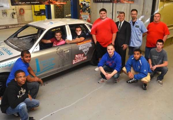 Eastern Suffolk BOCES students from H.B. Ward Career