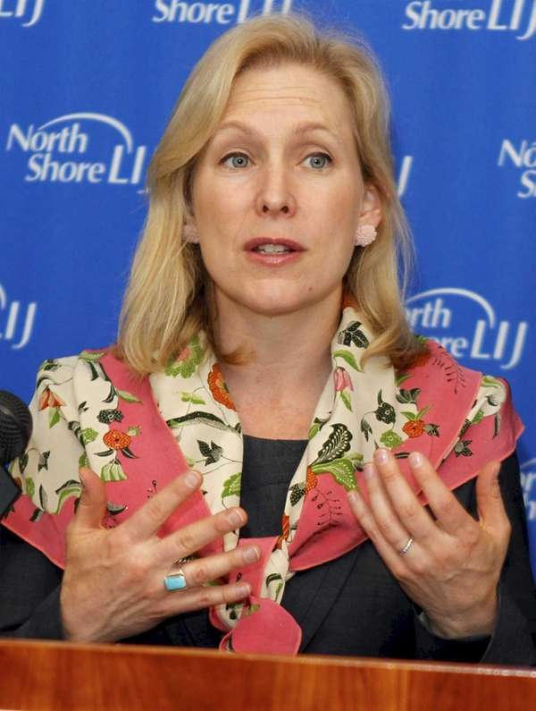 Senator Gillibrand speaks about the need for mental