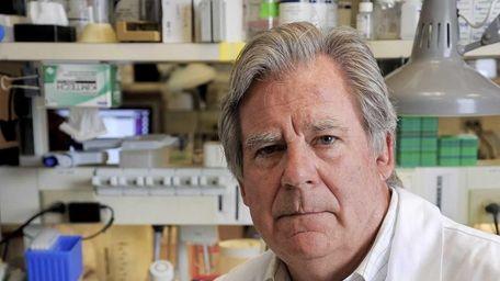 Jim Hicks, a Cold Spring Harbor Lab scientist,