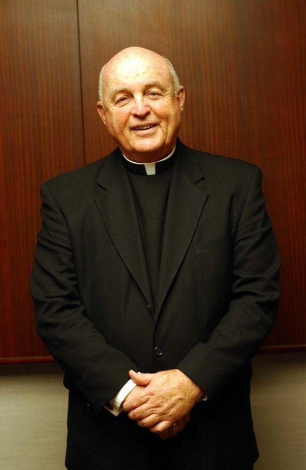 The Rev. Joseph M. Sullivan in 2002. The