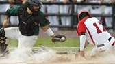 Ward Melville's Kyle Pedroli makes the play as