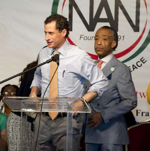 New York City mayoral candidate Anthony Weiner made