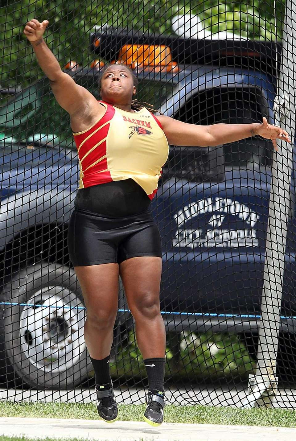 Sachem East's Diamond Jackson takes first in the