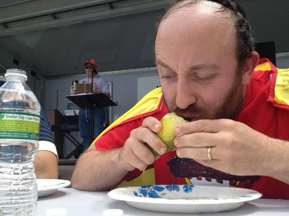 Long Island Kosher Barbecue and Food Festival judge