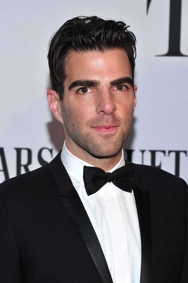 Zachary Quinto arrives at the 67th Annual Tony