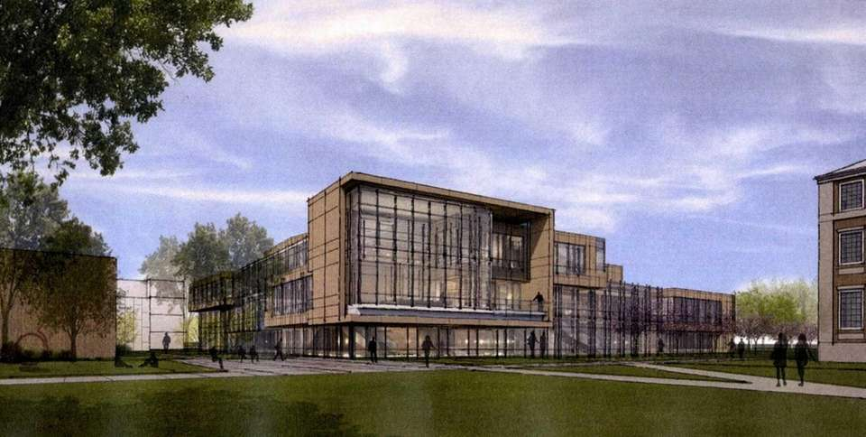 A rendering of the new Nexus Building and