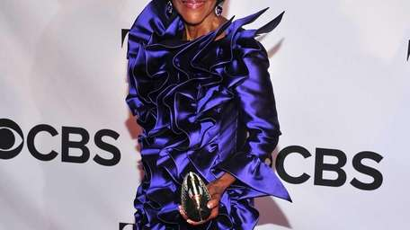 Tony Award nominee Cicely Tyson arrives on the