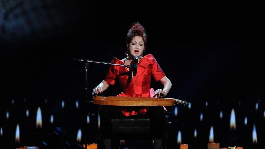 Cyndi Lauper performs at the 67th Tony Awards