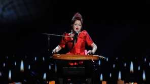 Cyndi Lauper performs at the 67th Tony Awards