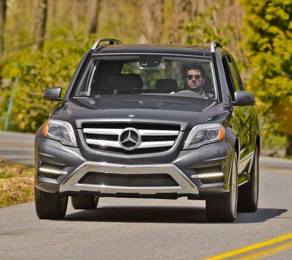 The 2013 Mercedes-Benz GLK 250 has a diesel