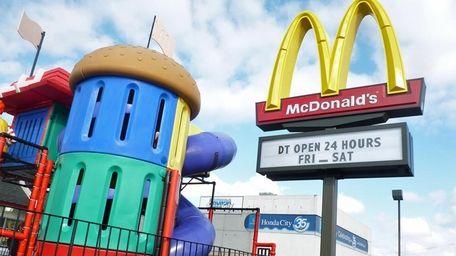 The world's biggest hamburger chain said June 10,