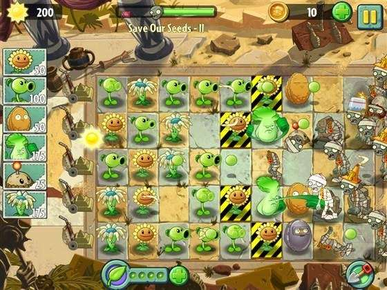 Plants vs. Zombies 2: It's About Time will