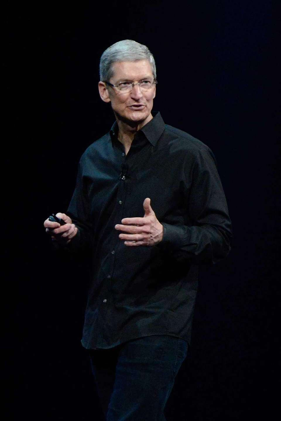 Apple chief executive Tim Cook is expected to