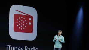 Eddy Cue, Apple's senior vice president of Internet