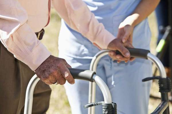 "Home health-aide duties including ""care, fellowship and protection"""