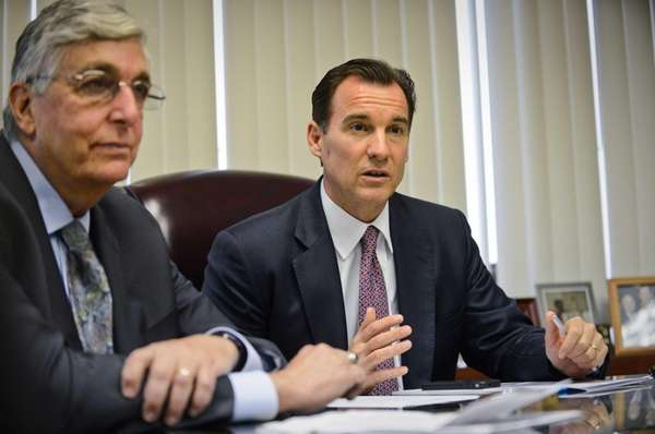 Former Nassau County Executive Tom Suozzi and former