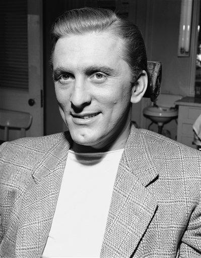 Kirk Douglas in 1947.