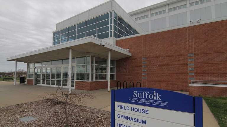 Suffolk County Community College campus in Brentwood on