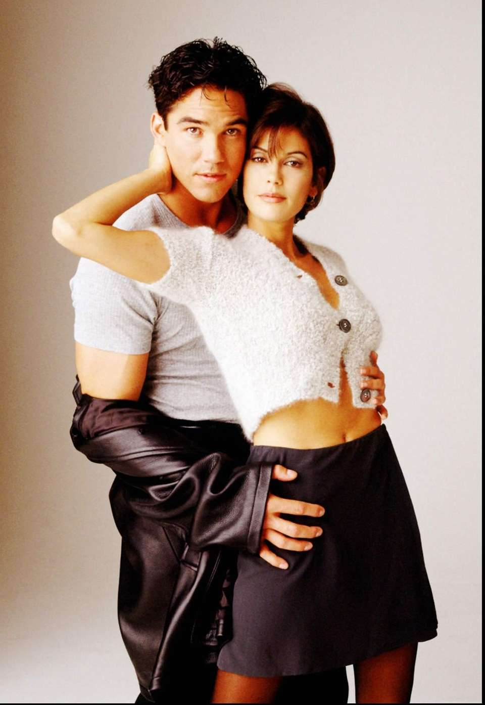 Dean Cain and Teri Hatcher as the mid-1990s