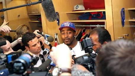 Giants wide receiver Hakeem Nicks during a