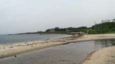 Mother's Beach, off South Howells Point in Bellport,