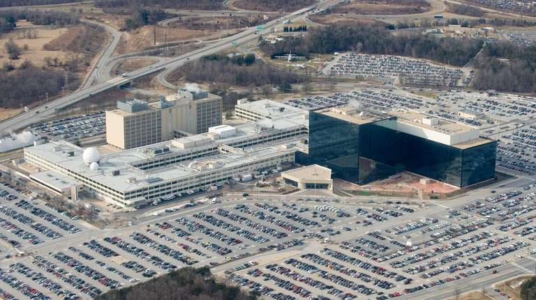 The National Security Agency headquarters at Fort Meade,