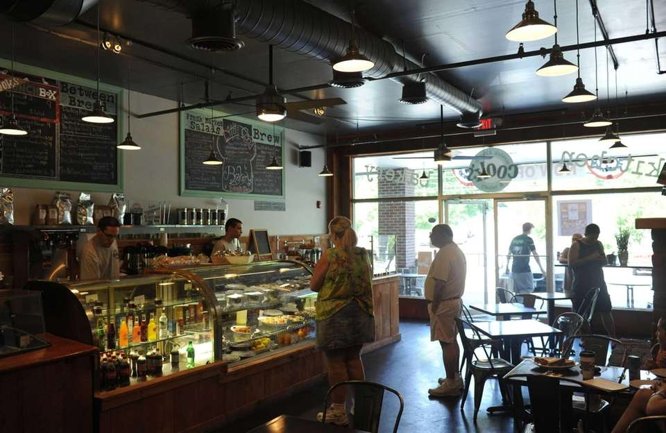 Patrons place their orders at Cook's Scratch Kitchen