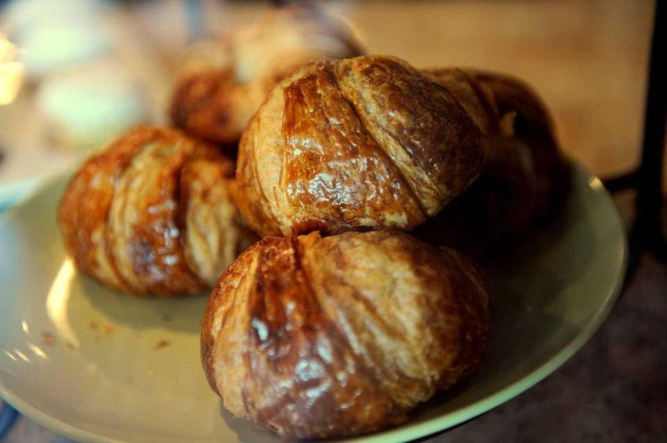 Croissants are made in-house at Cook's Scratch Kitchen