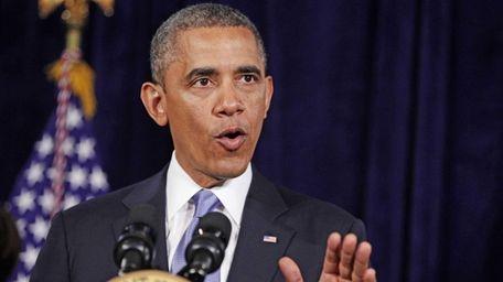 President Barack Obama speaks in San Jose, Calif.