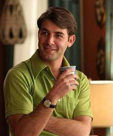"James Wolk as Bob Benson on ""Mad Men."""