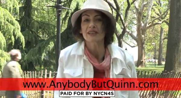 Anybody But Quinn (ABQ) Campaign, against Christine Quinn