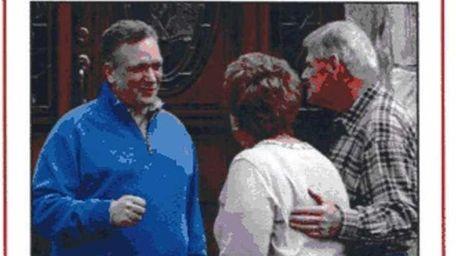 County Executive Edward Mangano, a Republican running for