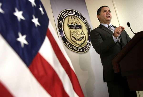 David Aguilar, the Acting Commissioner of Customs and