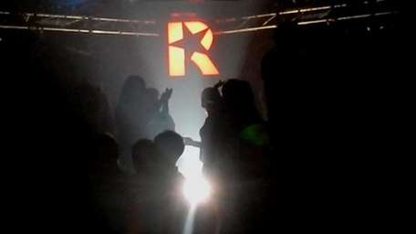 The crowd dances to alternative sounds at Revolution