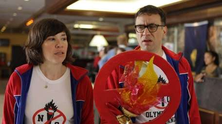 Carrie Brownstein and Fred Armisen star in