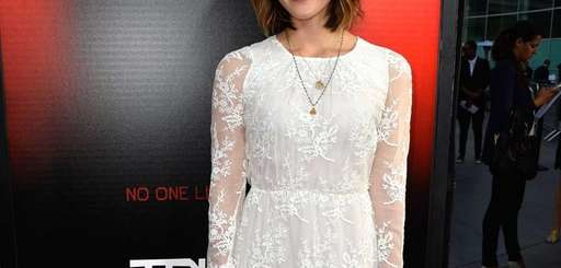 Katharine McPhee attends the premiere of HBO's quot;True