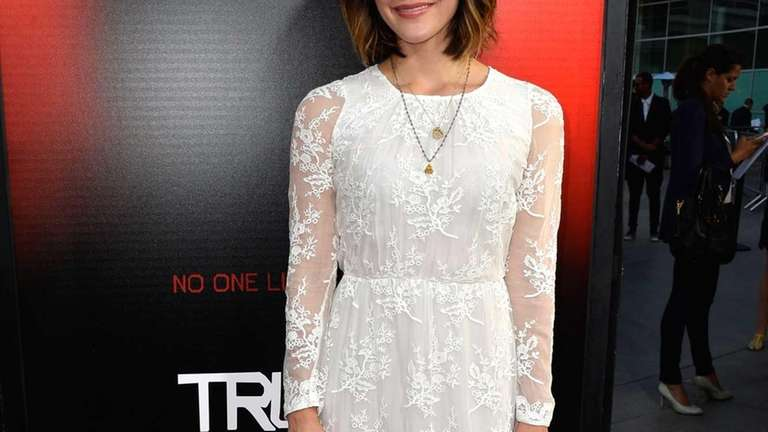 Katharine McPhee attends the premiere of HBO's