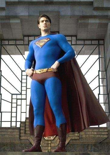 Superman, actor Brandon Routh, returns to Earth from