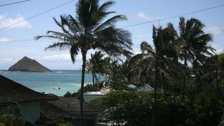 Lanikai beach, Hawaii. (Getty)