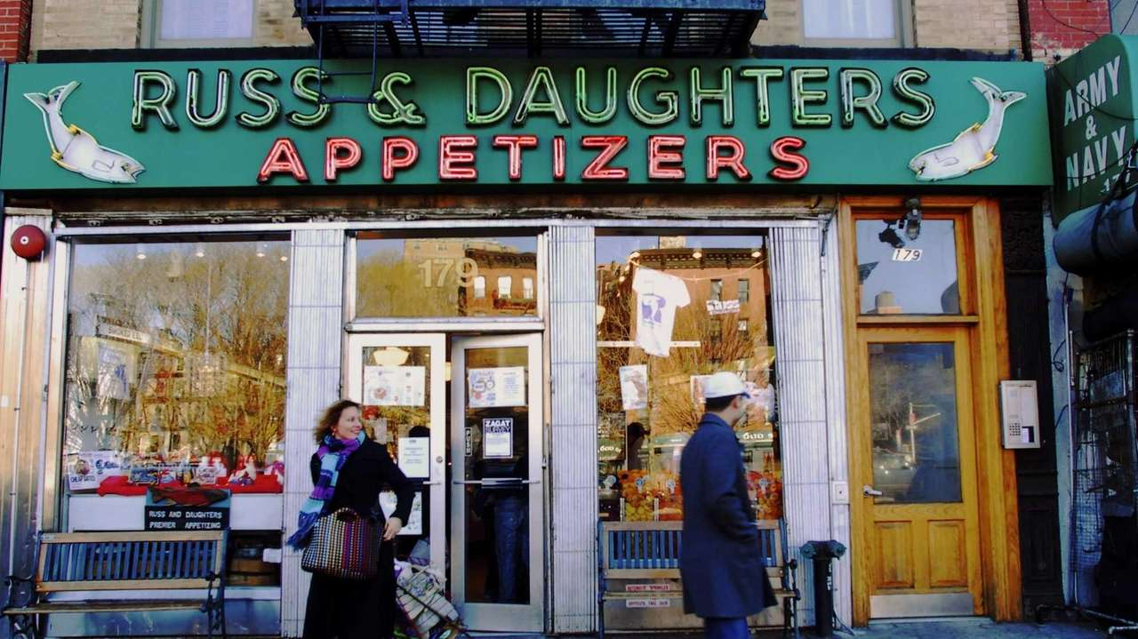 Russ & Daughters was founded in 1914 in