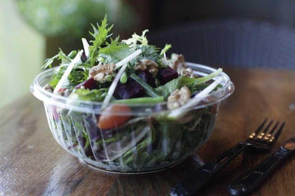 The market salad is served at Jack's Shack,