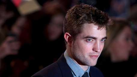 Robert Pattinson on the red carpet at the