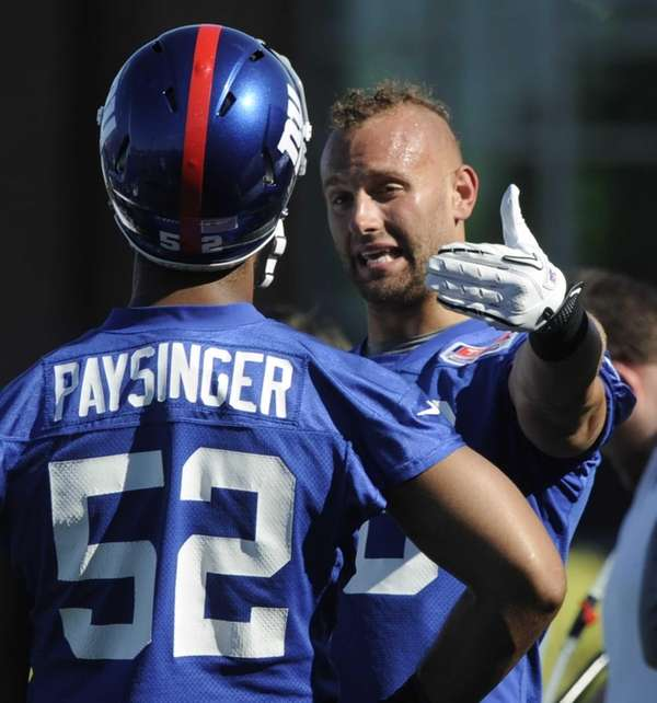Giants linebackers Spencer Paysinger and Mark Herzlich talk