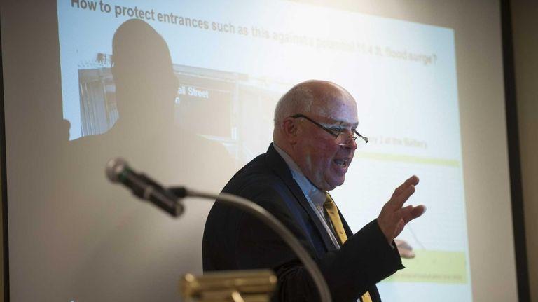 Interim MTA Executive Director Thomas F. Prendergast speaks